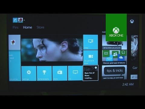 Xbox One - Setup & Dashboard Review