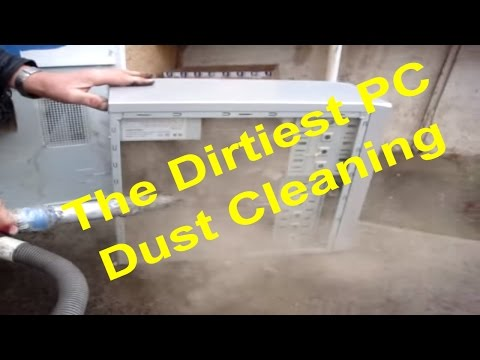 The Dirtiest PC - Cleaning dust inside of computer