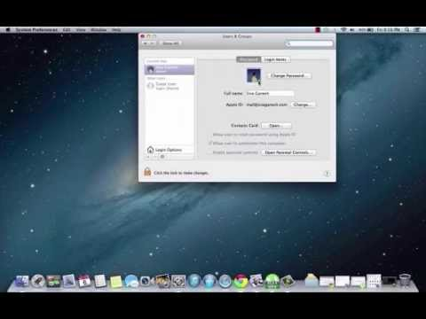 Change user account pictures in Mac OS X - Mountain Lion and others
