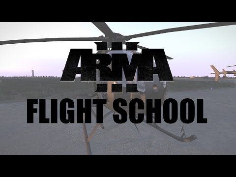 [ARMA 3 Tutorial] How To Fly Helicopters (RotorLib)
