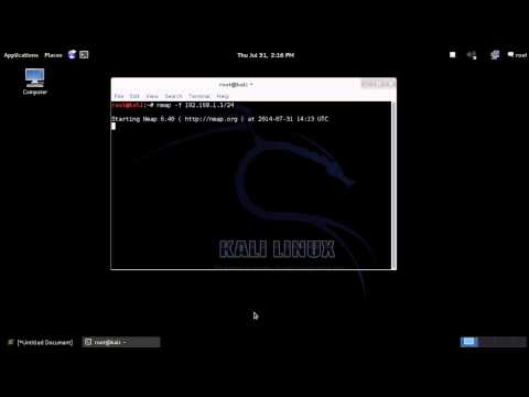 How to scan local network and get the ip address