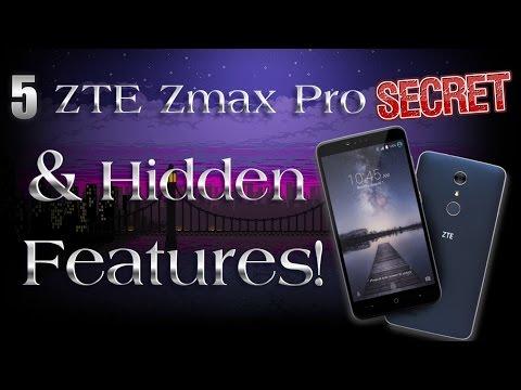 5 Secret & Hidden ZTE Zmax Pro Features