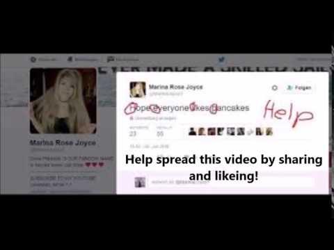 DELETED Marina Joyce Tweets