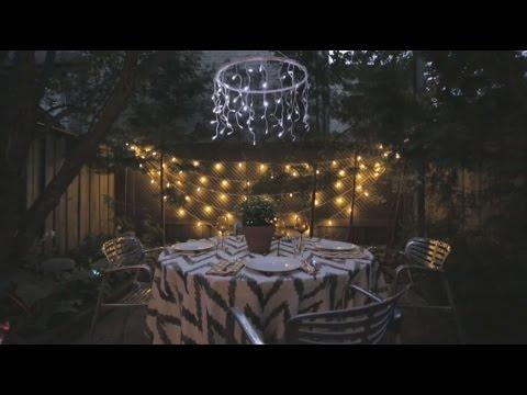 House & Home: Backyard Garden Lights