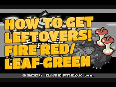 How to Get Leftovers! x 2! - Pokemon Fire Red/Leaf Green Tutorial