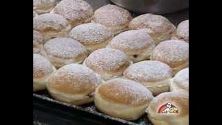 Pfannkuchen Herstellung - Bäckerei Gunter Weißbach
