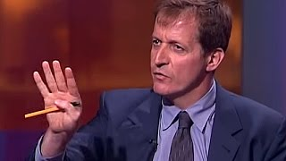Jon Snow interviews Alastair Campbell over Iraq WMD report being sexed up (2003)