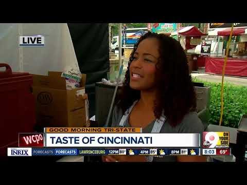 Ever had an arepa? Try some at Taste of Cincinnati