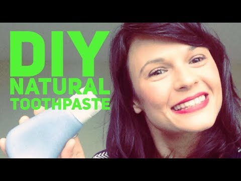 Homemade Toothpaste to Whiten Teeth   You will never buy commercial again!
