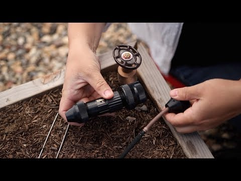 How to Install a Drip System in Raised Beds 💦🌿// Garden Answer