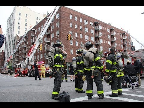 3 Alarm Chelsea Fire, 4 firefighters injured