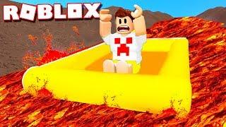 Roblox - O RIO VIROU LAVA !!!