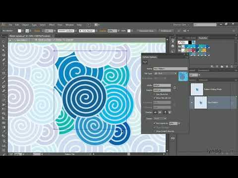 Illustrator CC tutorial: Using the Pattern Generator | lynda.com