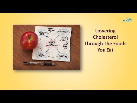 Lowering Cholesterol Through The Foods You Eat  |  Foods That Lower Cholesterol