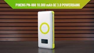 Pineng PN-888 Kablosuz Şarj Destekli Powerbank İncelemesi
