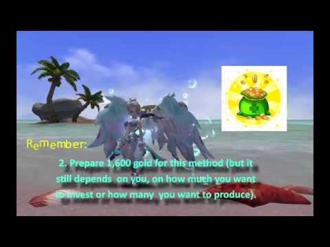 Dragon Nest gold farming lvl 95 (1 specific method)