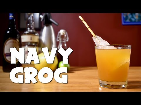 Navy Grog - How to Make the Classic Rum & Honey Tiki Cocktail