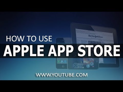 How To Use Apple App Store /All Iphone/Ipad & Ipod