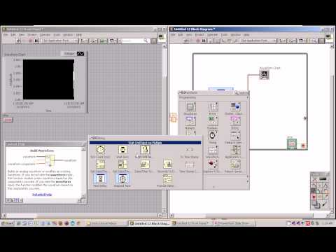 Basic Data Acquisition using LabView
