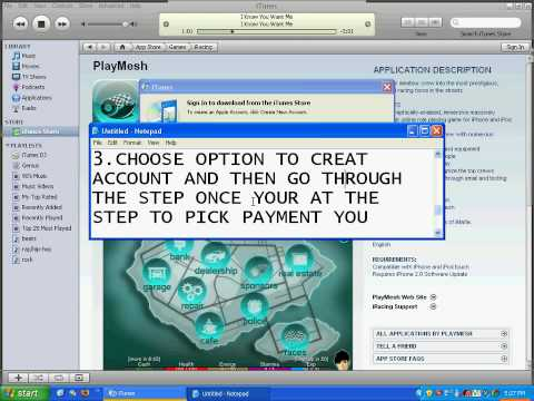 HOW TO: creat a free itunes account  (NO CREDIT CARD NUMBER)