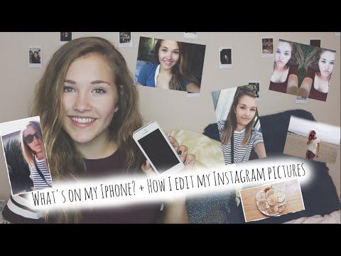 What's on my iPhone 5?! + How I Edit My Instagram Pictures