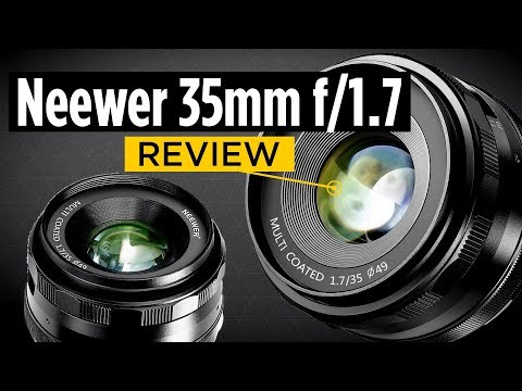 Neewer 35mm f/1.7 Manual Focus Prime Fixed Lens Review