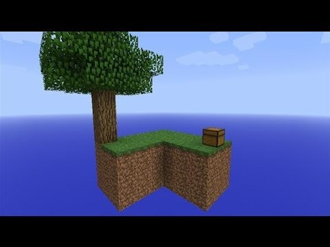 Minecraft PS3/PS4 HOW TO MAKE SKY BLOCK