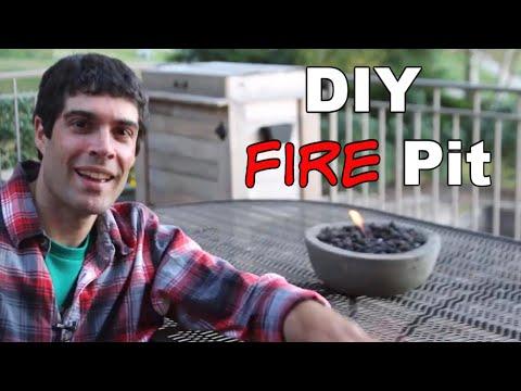 Build Cool DIY Gel Fire Pits -- by Home Repair Tutor