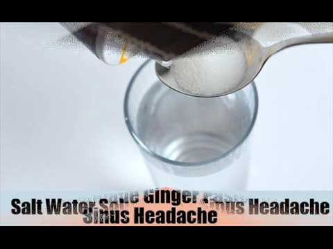 6 Natural Cures For Sinus Headaches