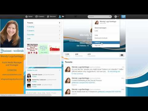 How to turn off Twitter email notifications about people y...