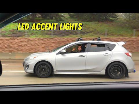 Replacing Mazdaspeed3 Headlight Accent/Sidemarker LED Bulbs