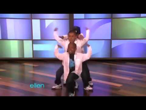 3 Amazing Kid Hip Hop Dancers on Ellen DeGeneres Show (10_04_2010)