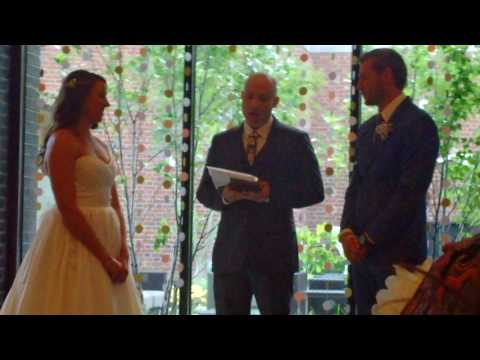 Funniest Wedding Officiant Ever!!!