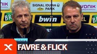Elfmeter und Titelrennen – Lucien Favre und Hansi Flick   Borussia Dortmund - FC Bayern München 0:1