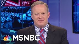 Sean Spicer: John Lewis' Remarks On Donald Trump Are Disappointing | Morning Joe | MSNBC