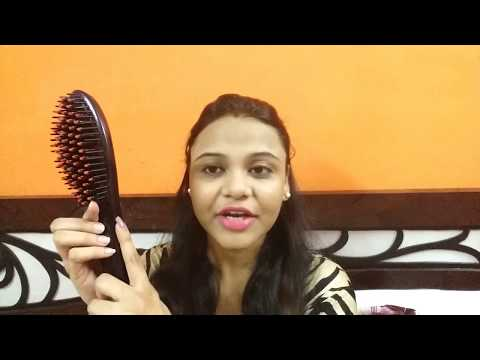 DOES IT WORK? CHEAP Hair Straightening Brush | EASY Hair Straightening at Home ? | Review & Demo