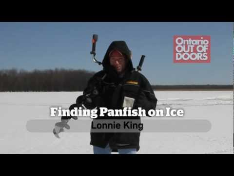 Finding Panfish on Ice