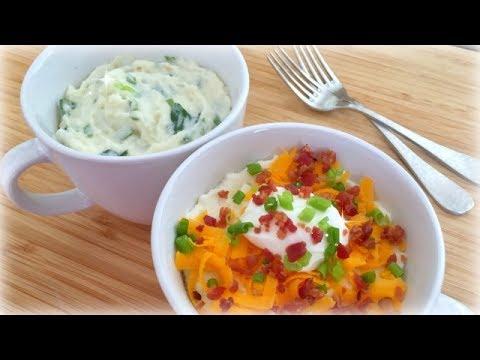 Microwave Mug Mashed Potatoes f/ Famous Idaho Potatoes
