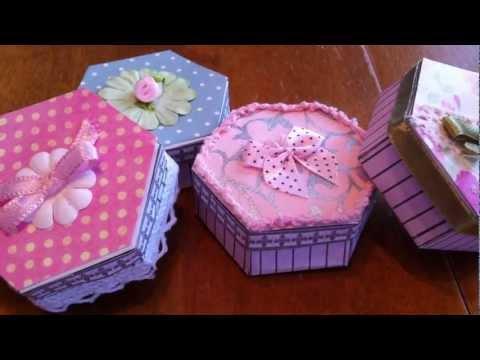 ~Miniature hat boxes~