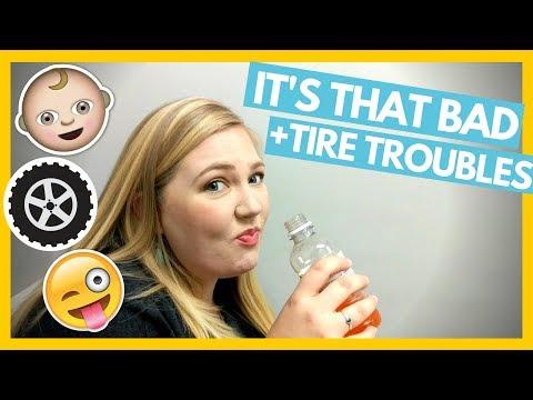 Glucose Test and RV Trailer Tire Trouble 🙄 Full Time RV Family