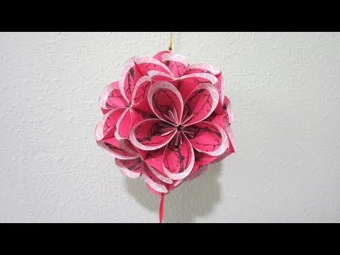 CNY TUTORIAL NO. 77 -  Hongbao Ornamental Ball (Variation No.  2)