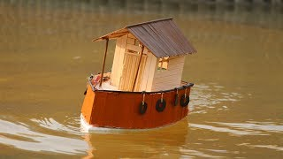 How to make a Motor House Boat