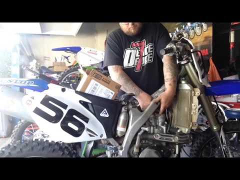Yz450f head gasket leak