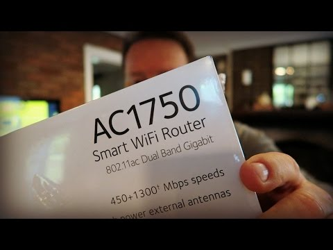 Netgear AC1750 Smart WiFi Router For Faster Internet