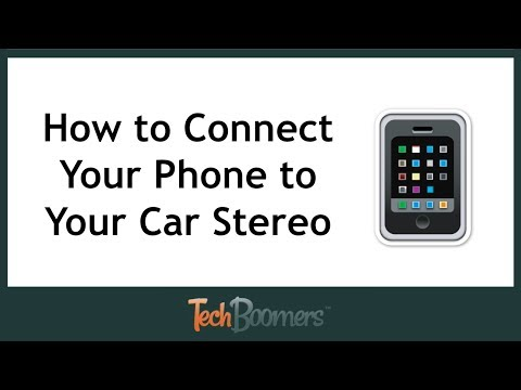 How to Connect Your Phone to Your Car Stereo