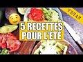 5 recettes VEGAN pour l'été » facile et rapide !