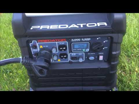Predator 3500 Inverter | Running the Camper A/C and First Oil Change