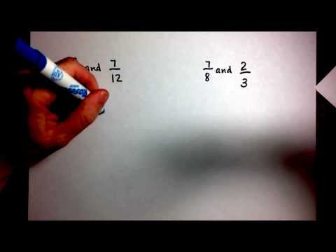 Finding LCD and Equivalent Fractions