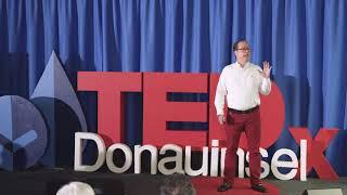Hyper-degradation: a new concept in waterless cleaning | Santiago McCausland | TEDxDonauinselSalon