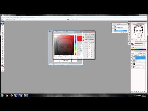 Photoshop CS3 - Cartoon Effect Tutorial